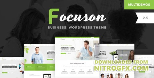 ThemeForest - Focuson v2.8 - Business WordPress Theme - 15611214