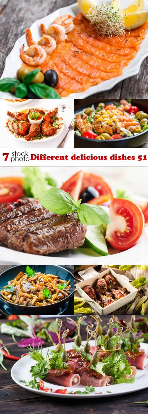 Photos - Different delicious dishes 51