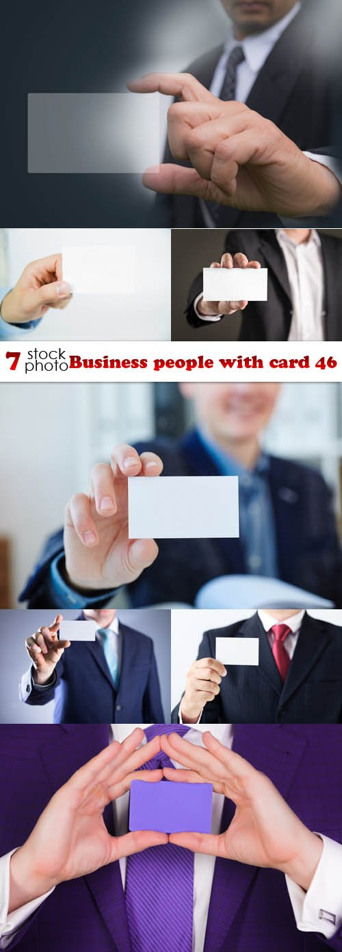 Photos - Business people with card 46