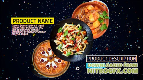 4K Restaurant Product Promo - Project for After Effects (Videohive)
