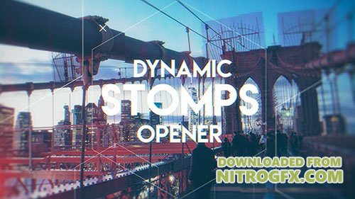 Dynamic Stomps Opener 20222893 - Project for After Effects (Videohive)