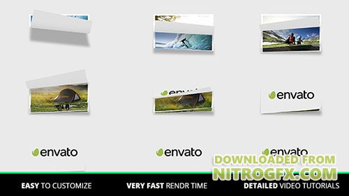 Page Flip Logo - Project for After Effects (Videohive)