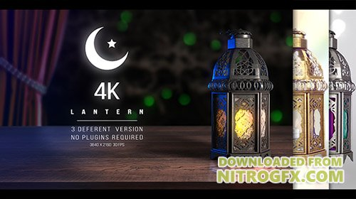 4K Lantern - Ramadan - Project for After Effects (Videohive)
