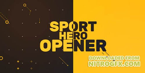 Sport Hero Opener - Project for After Effects (Videohive)
