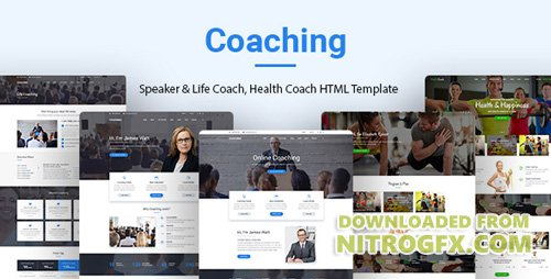 ThemeForest - Coaching v1.0 - Speaker & Life Coach, Health Coach HTML Templates - 20458907