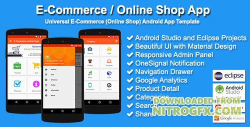 CodeCanyon - E-Commerce / Online Shop App v2.1.2 - 10442576