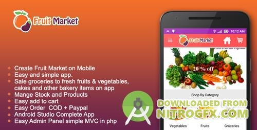 CodeCanyon - Fruit Market - Local fruit store app (Update: 23 September 16) - 15411747