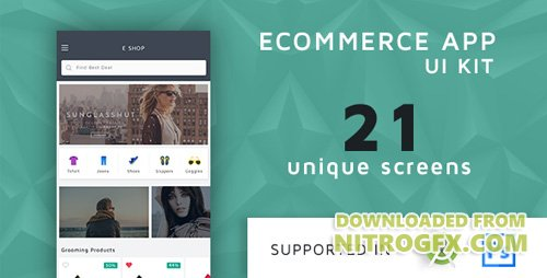 CodeCanyon - Shoppy v1.0 - Ecommerce UI KIT with Source Code - 16748502