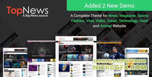 ThemeForest - TopNews v3.0.1 - News Magazine Newspaper Blog Viral & Buzz WordPress Theme - 16171130