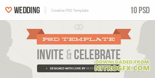 ThemeForest - Wedding v1.0 - Creative PSD Template - 4212231