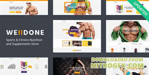 ThemeForest - Welldone v1.7 - Sports & Fitness Nutrition and Supplements Store - 15710294