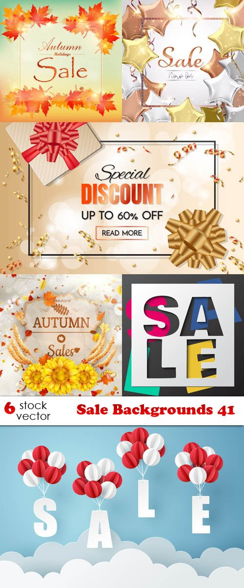 Vectors - Sale Backgrounds 41