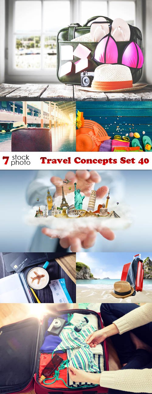 Photos - Travel Concepts Set 40