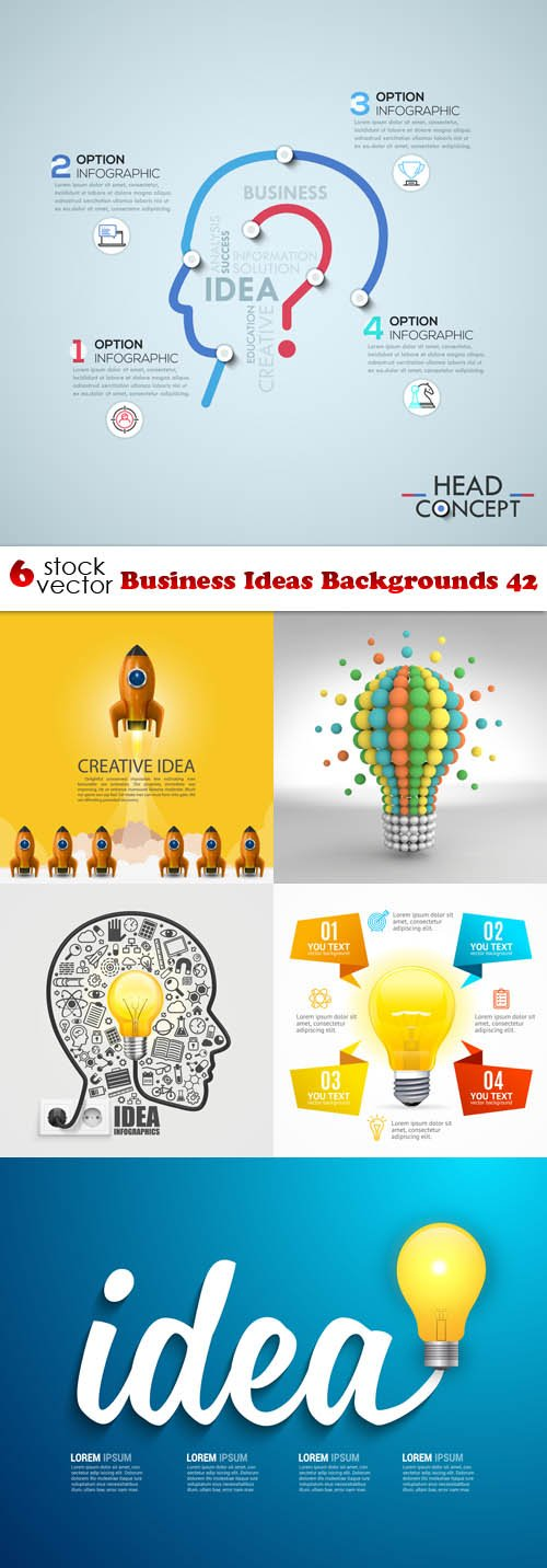 Vectors - Business Ideas Backgrounds 42