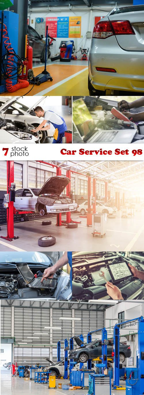 Photos - Car Service Set 98