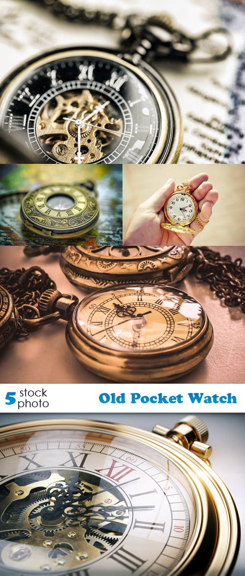 Photos - Old Pocket Watch Set