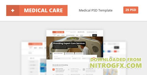 ThemeForest - Medical Care v1.0 - Medical PSD Template - 6903897