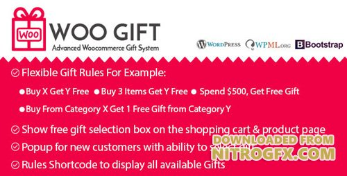 CodeCanyon - Woo Gift v3.5 - Advanced Woocommerce Gift Plugin - 10685086