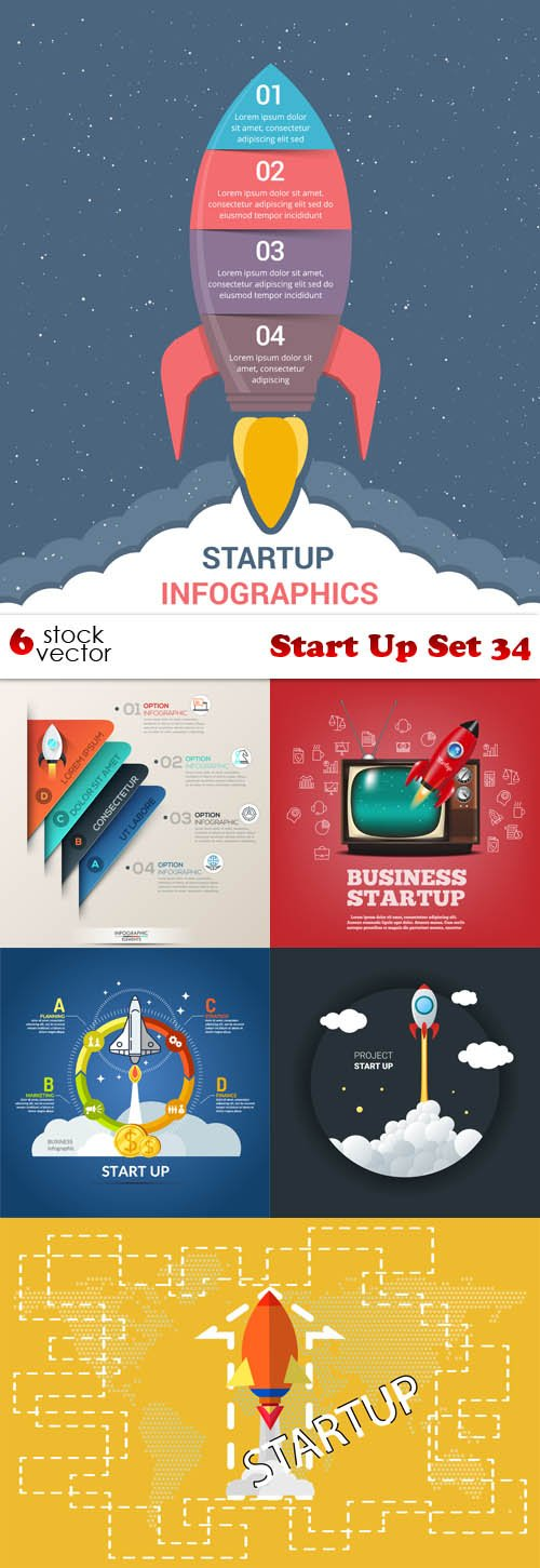 Vectors - Start Up Set 34