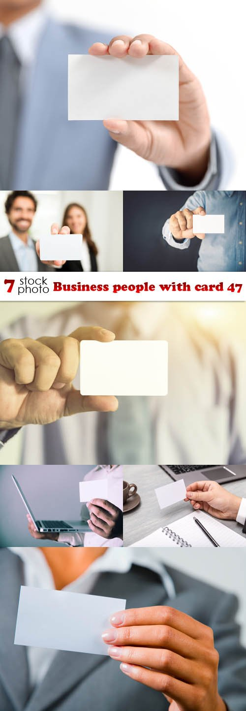 Photos - Business people with card 47