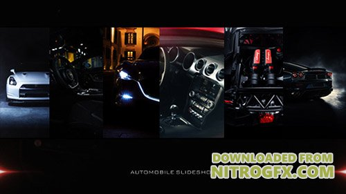 Car Slideshow - Project for After Effects (Videohive)