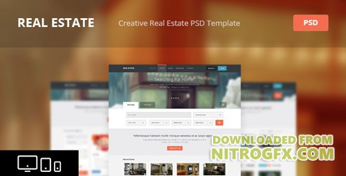 ThemeForest - Real Estate v1.1 - Creative HTML Template - 4797519