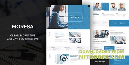 ThemeForest - MORESA v1.0 - PSD Template - 20453992