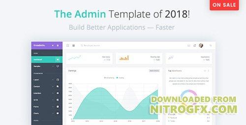 ThemeForest - TheAdmin v1 0 - Responsive Bootstrap 4 Admin