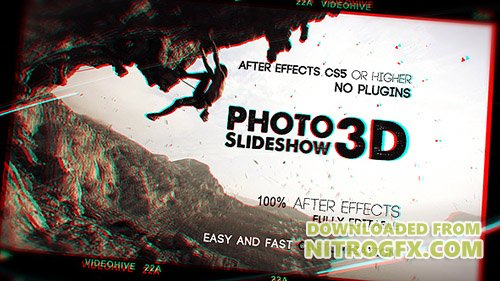 Photo Slideshow 3D - Project for After Effects (Videohive)