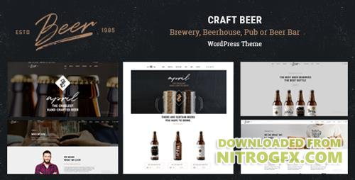 ThemeForest - Craft Beer v1.0.4 - Brewery or Pub WordPress Theme - 20110676