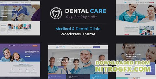 ThemeForest - Dental Care v1.0 - Medical and Teeth Clinic WordPress Theme - 19887920