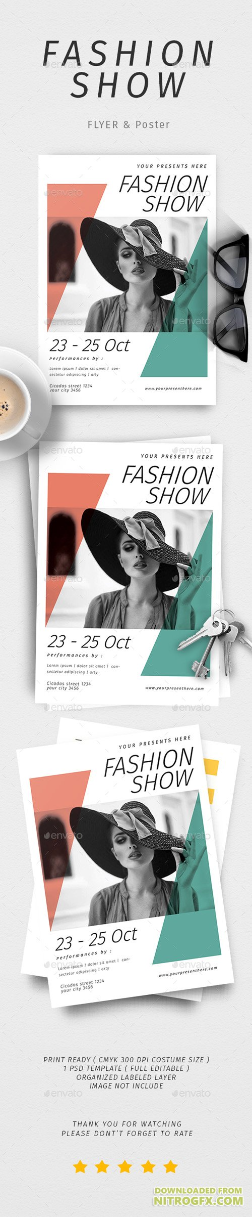 Fashion Show Poster & Flyer 20602753