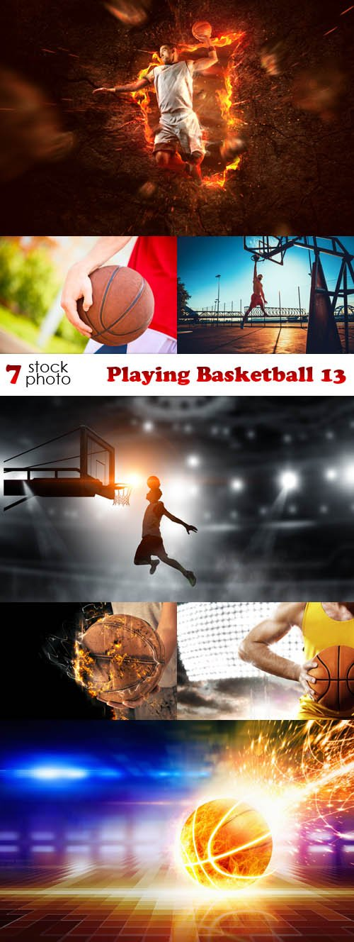 Photos - Playing Basketball 13