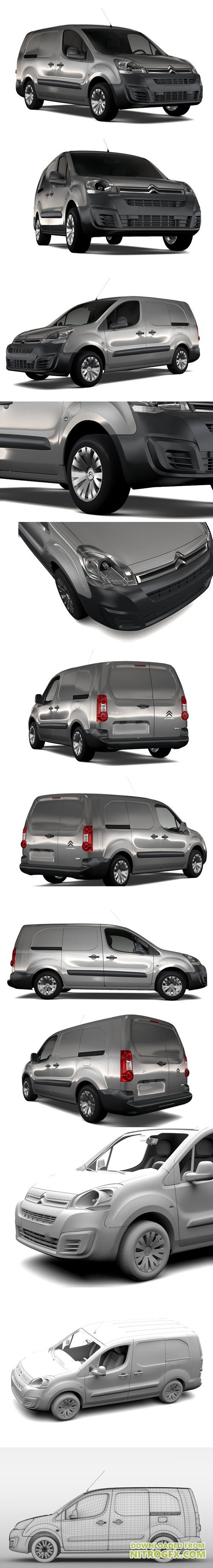 CreativeMarket - Citroen Berlingo Van L2 Full 1844369