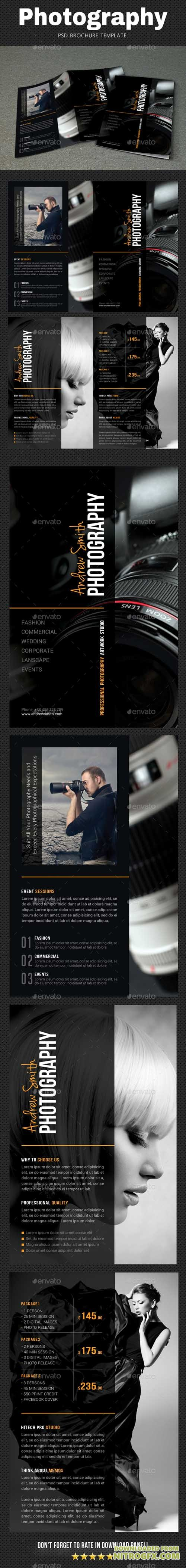 GraphicRiver - Photography Brochure 2 20670432