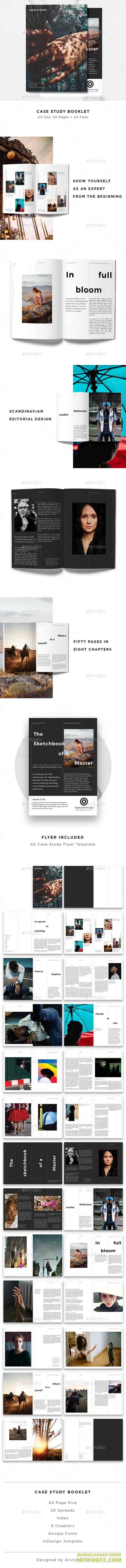 GraphicRiver - Case Study Booklet + Flyer 20669075