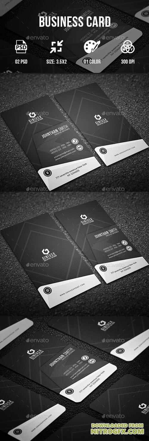 GraphicRiver - Business Card II 20694356