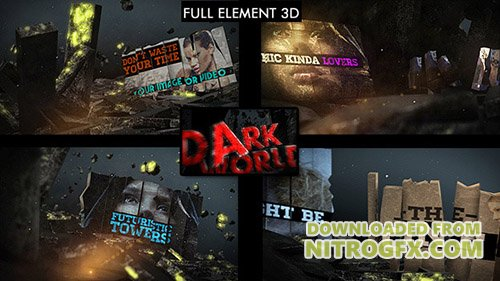 Dark World Opener - Project for After Effects (Videohive)