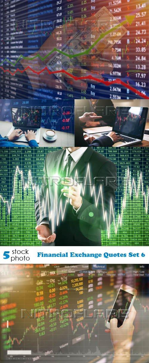 Photos - Financial Exchange Quotes Set 6