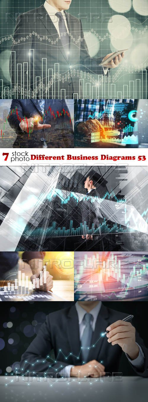 Photos - Different Business Diagrams 53