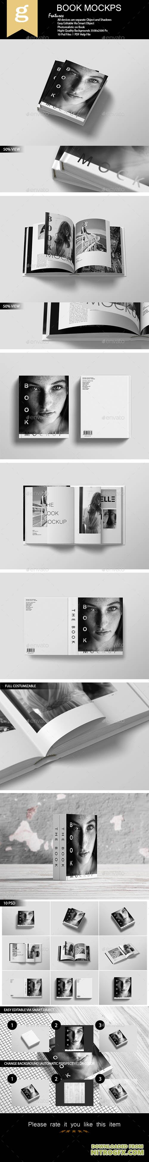 Book Mock-Up 20715362