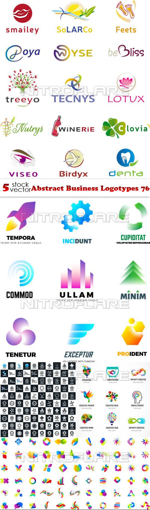 Vectors - Abstract Business Logotypes 76