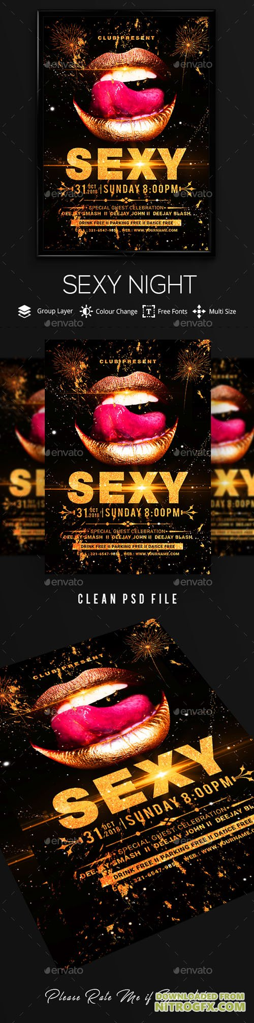 Sexy Night Poster / Flyer 20735226