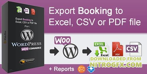 CodeCanyon - WooCommerce Booking Export v1.0.1 - 20675571