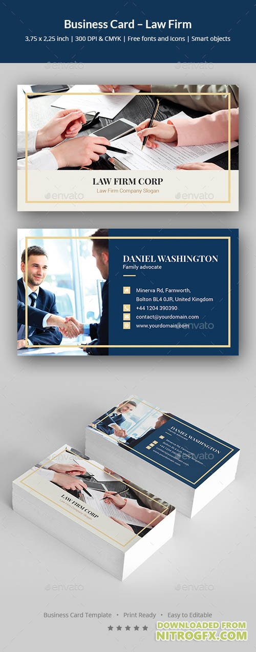 Business Card – Law Firm 20702008
