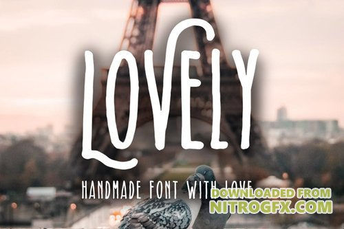 Lovely - Handmade Font With Love