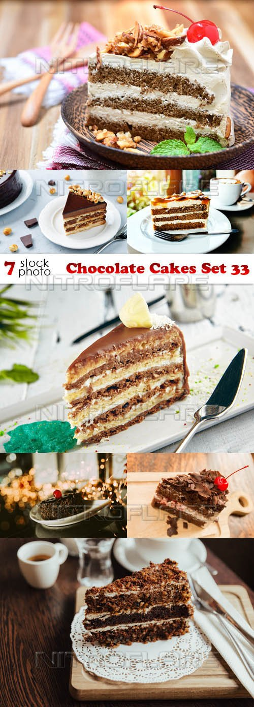 Photos - Chocolate Cakes Set 33