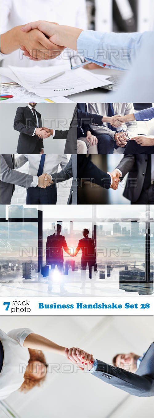 Photos - Business Handshake Set 28