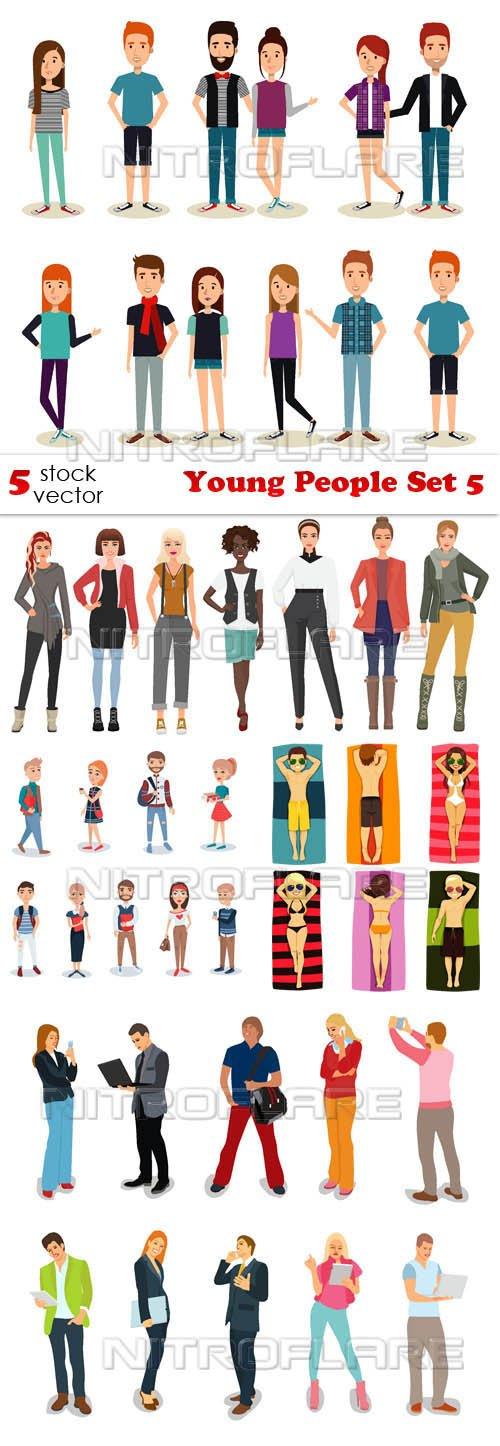 Vectors - Young People Set 5
