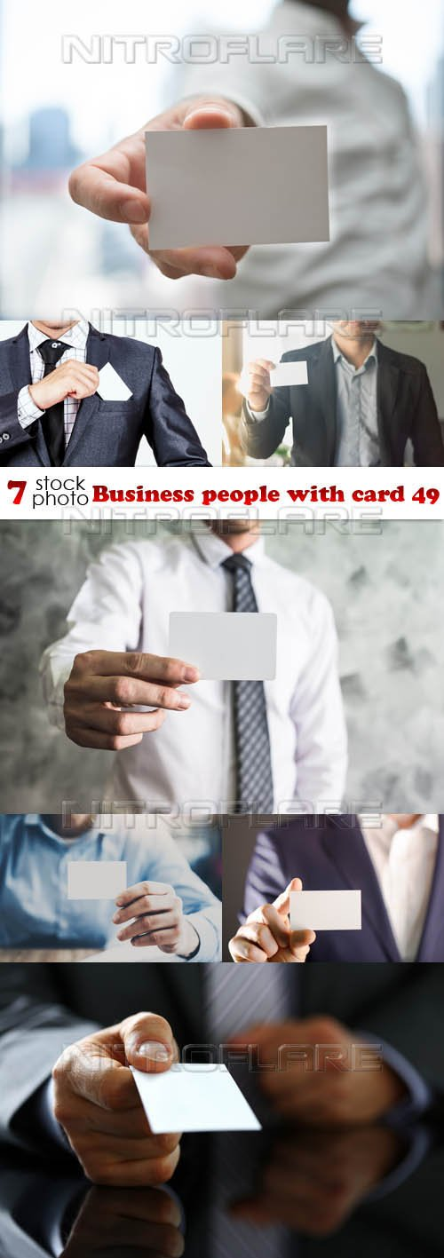 Photos - Business people with card 49